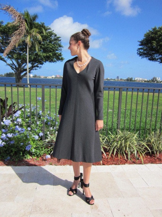 Pauline Trigere Dress / Vintage Pauline Trigere D… - image 6