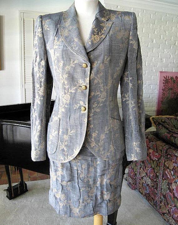 EMANUEL UNGARO PARALLELE / Vintage Ungaro suit / V