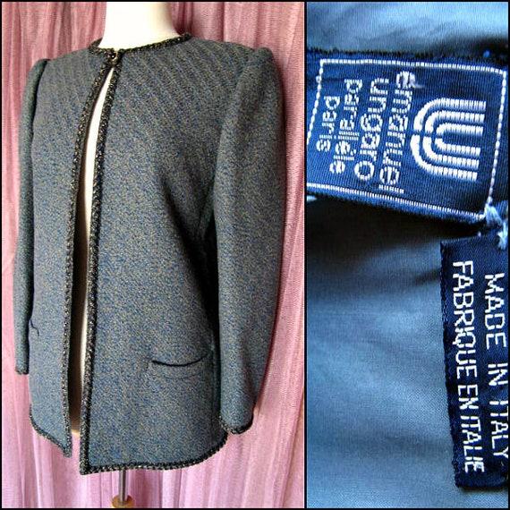 Emanuel Ungaro Parallele Jacket / Vintage Ungaro J