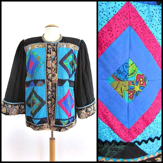 Suttles and Seawinds jacket / Patchwork Jacket / q
