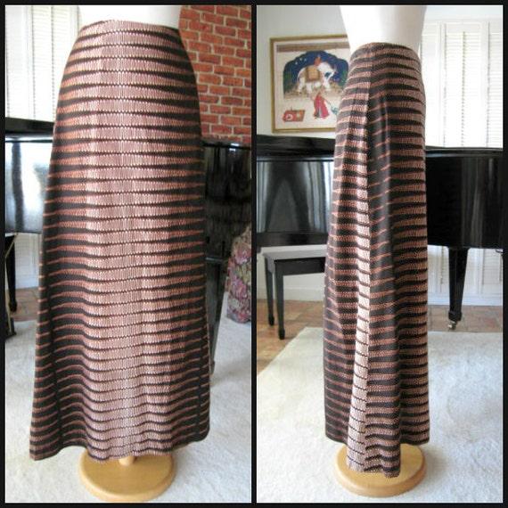 Batik Skirt / Vintage Batik Skirt / 60s Batik skir