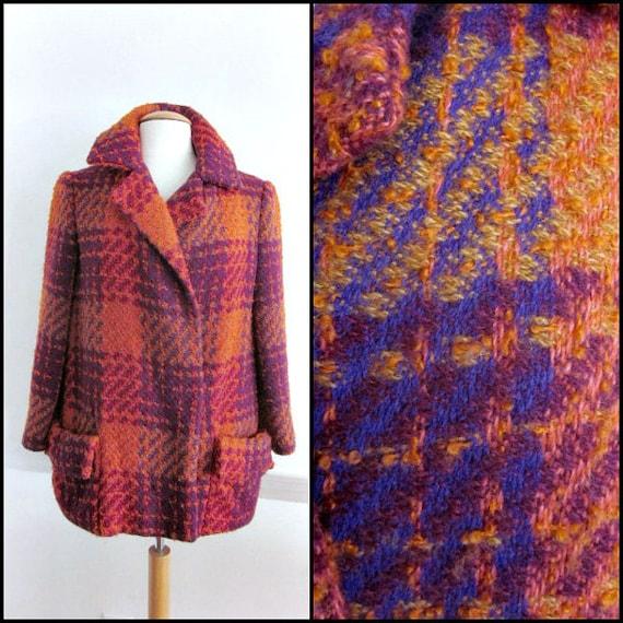 TEAL TRAINA Jacket / Teal Traina Coat / Vintage Te