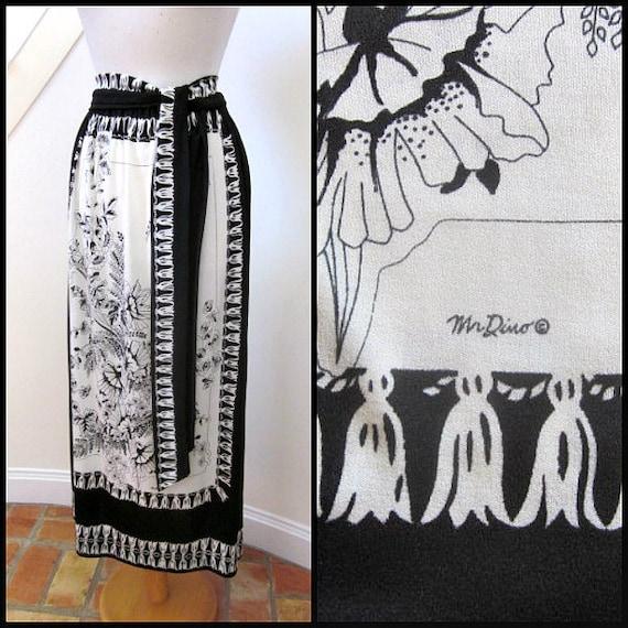 Mr Dino Skirt / Vintage Mr Dino skirt / 70s Mr Din