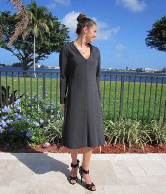 Pauline Trigere Dress / Vintage Pauline Trigere D… - image 4