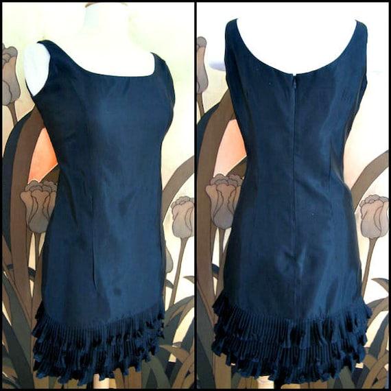 Victor Costa LBD / Vintage Victor Costa Dress / Vi