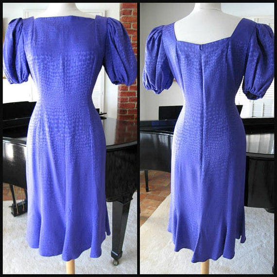 ADELE SIMPSON vintage dress / 70s Adele Simpson dr