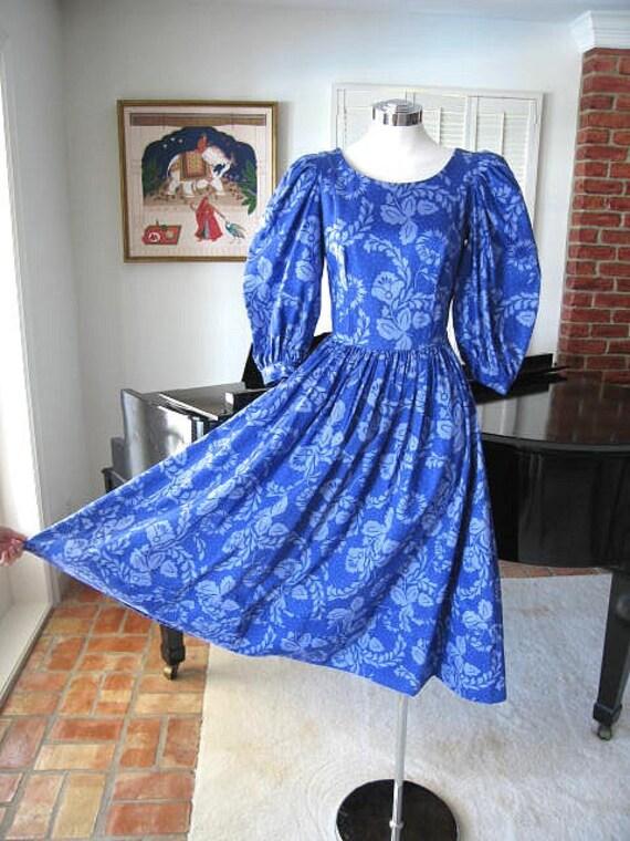 Laura Ashley Dress / Vintage Laura Ashley Dress /