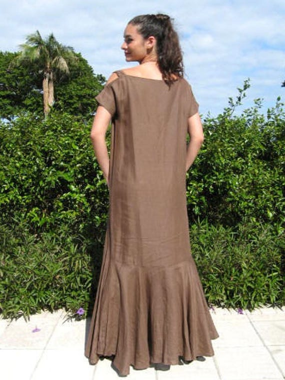 GIGLI dress / Vintage Romeo Gigli 30s Style Gown … - image 6