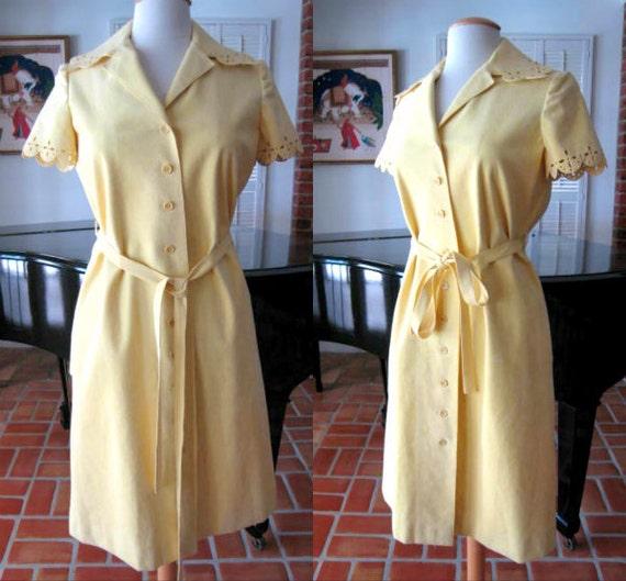 MOLLIE PARNIS 60s Dress / fits S-M / Mollie Parnis