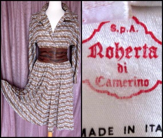 Roberta di Camerino dress / vintage Roberta di Cam