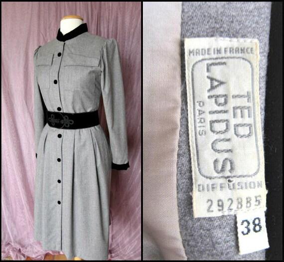 Ted Lapidus Dress / fits S / Ted Lapidus Paris nu… - image 5
