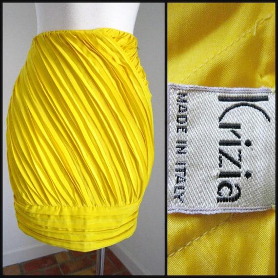 Krizia skirt / Vintage Krizia Skirt / fits XS-S /