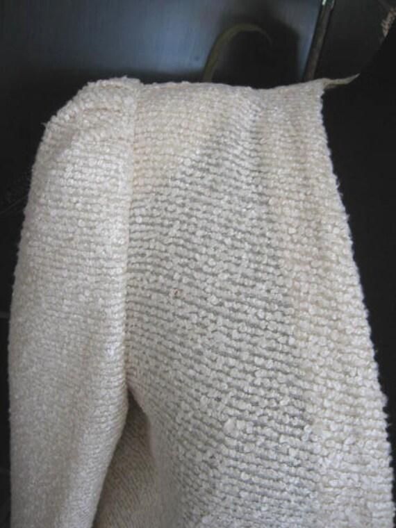 Agnona Coat / Vintage Italian Coat / Silk Knit Co… - image 9