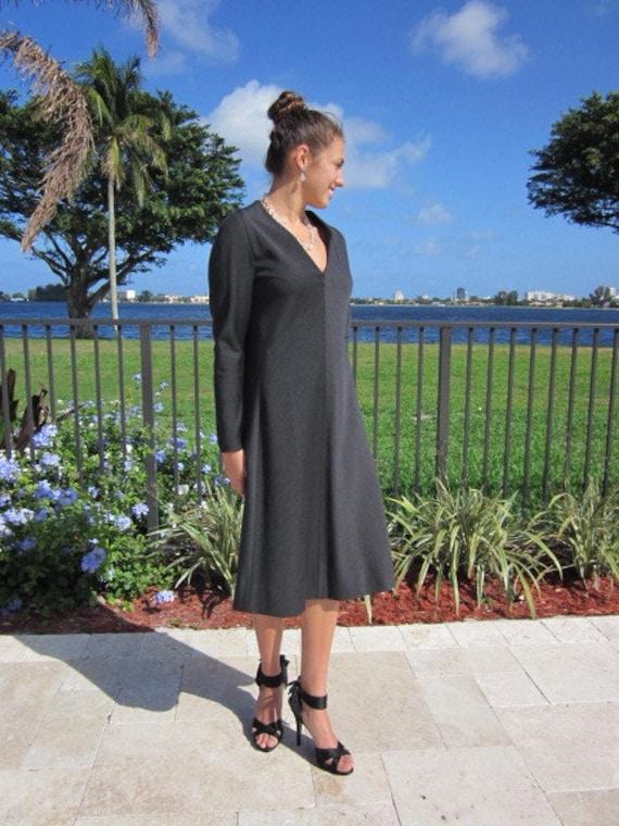 Pauline Trigere Dress / Vintage Pauline Trigere D… - image 5