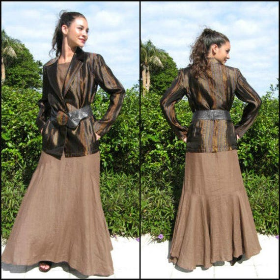 GIGLI dress / Vintage Romeo Gigli 30s Style Gown … - image 8