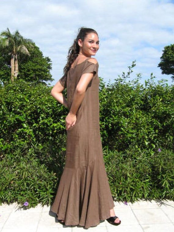 GIGLI dress / Vintage Romeo Gigli 30s Style Gown … - image 3