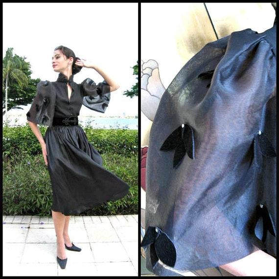 Andrea Petersel Blouse / fits XS-S / Vintage Blous