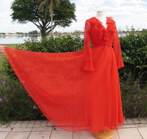 Miss Elliette Dress / Miss Elliette Gown / Vintage