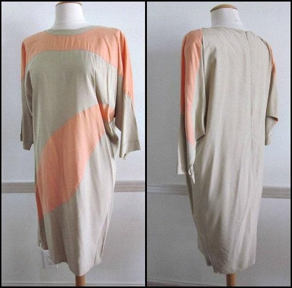 YEOHLEE Color Block Dress / vintage Yeohlee Dress