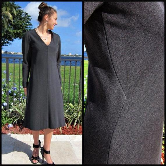 Pauline Trigere Dress / Vintage Pauline Trigere D… - image 1