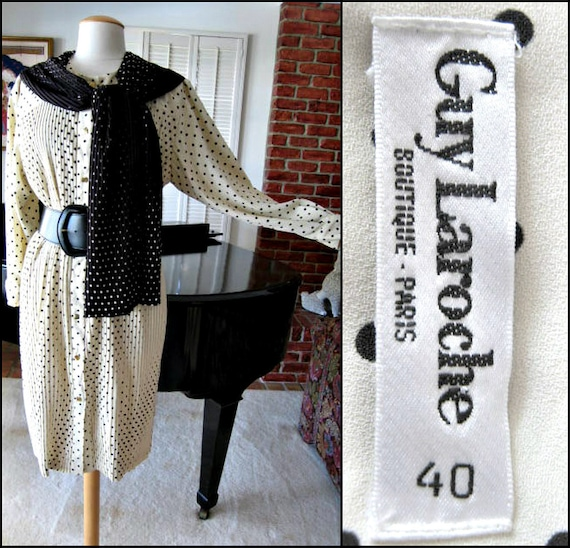 Guy Laroche Dress / Vintage Guy Laroche Dress / Gu