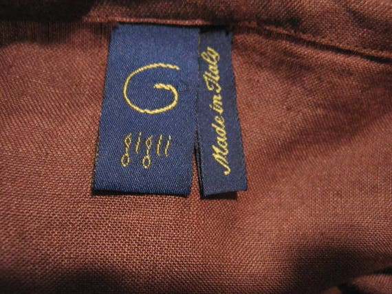 GIGLI dress / Vintage Romeo Gigli 30s Style Gown … - image 10
