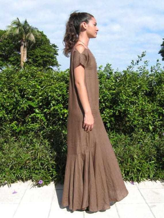 GIGLI dress / Vintage Romeo Gigli 30s Style Gown … - image 5