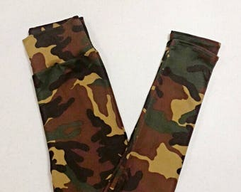 Women's Camo Leggings by Cozy - Spandex - Buttery - Plus - High Waist Yoga Pants - Hunting - Gifts for Him - gender neutral - rifle season