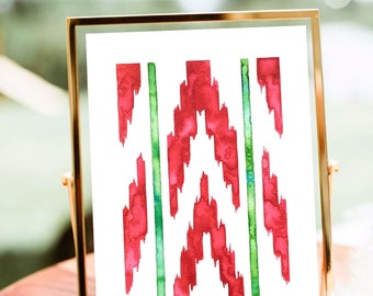 lenguas fabric, ikat, mallorca fabric, mallorca souvenir, ikat print, mallorca print, christmas gift, halloween gift, art, lenguas fabric