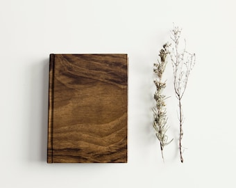 A6 Notebook Wood look