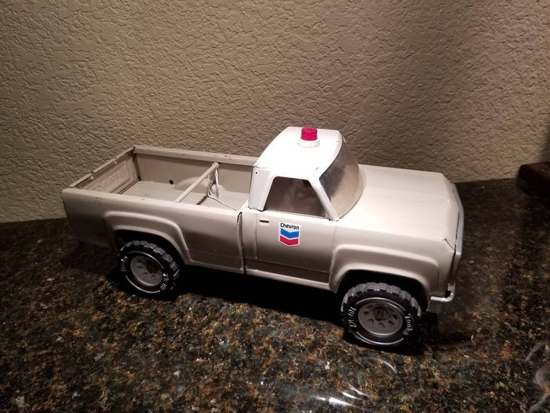 Vintage Tonka Chevron Truck, Solid Metal Truck, Gift for Men, Toy Truck,  Toys