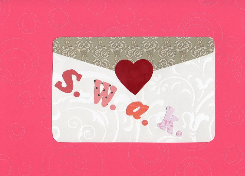 Valentine s day love letter applique template etsy