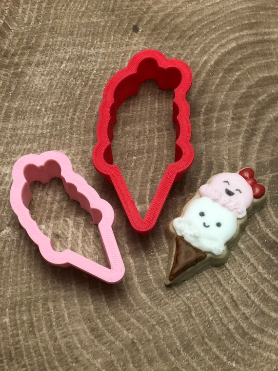 Double Scoop Ice Cream Cookie Cutter