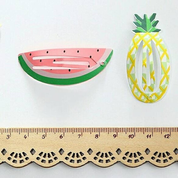Fruit Barrettes