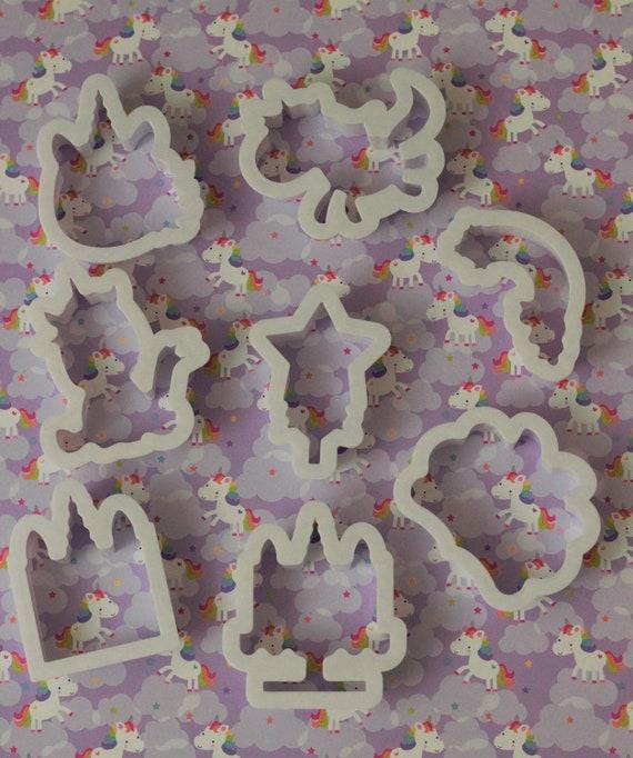 Unicorn Cookie Cutter Set