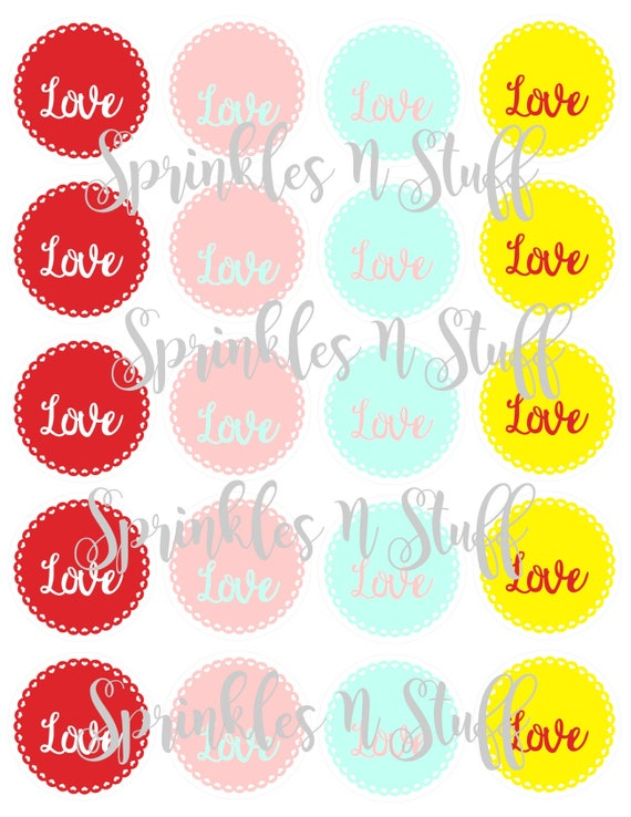 Valentine Print and Cut Tag