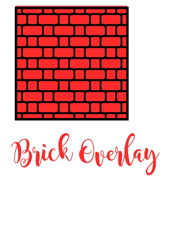 Brick Overlay Stencil