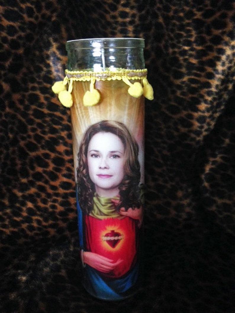 Pam Beesly-Halpert Jenna Fischer Kitschy Kandle  Prayer image 0