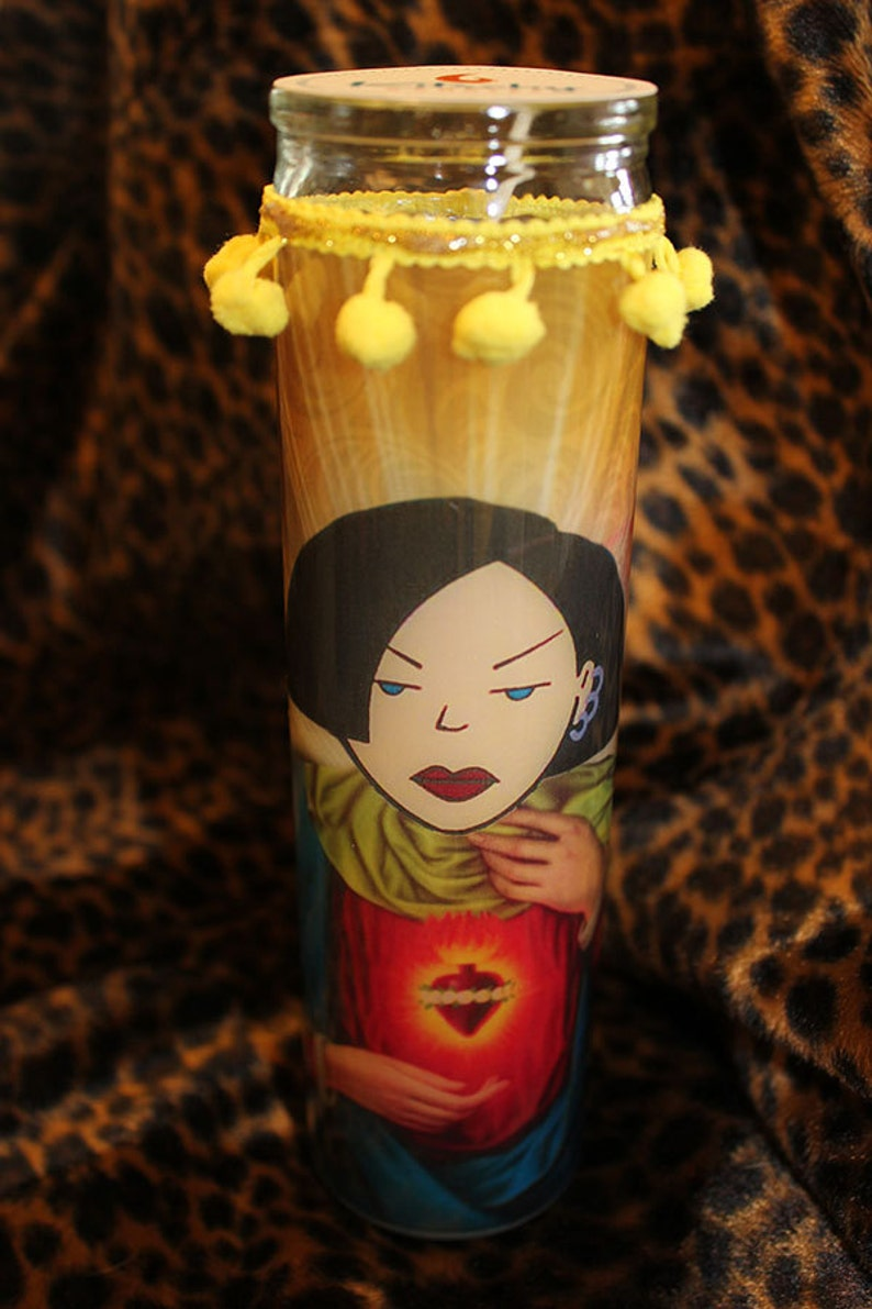Jane From Daria Kitschy Kandle  Prayer Candle image 0