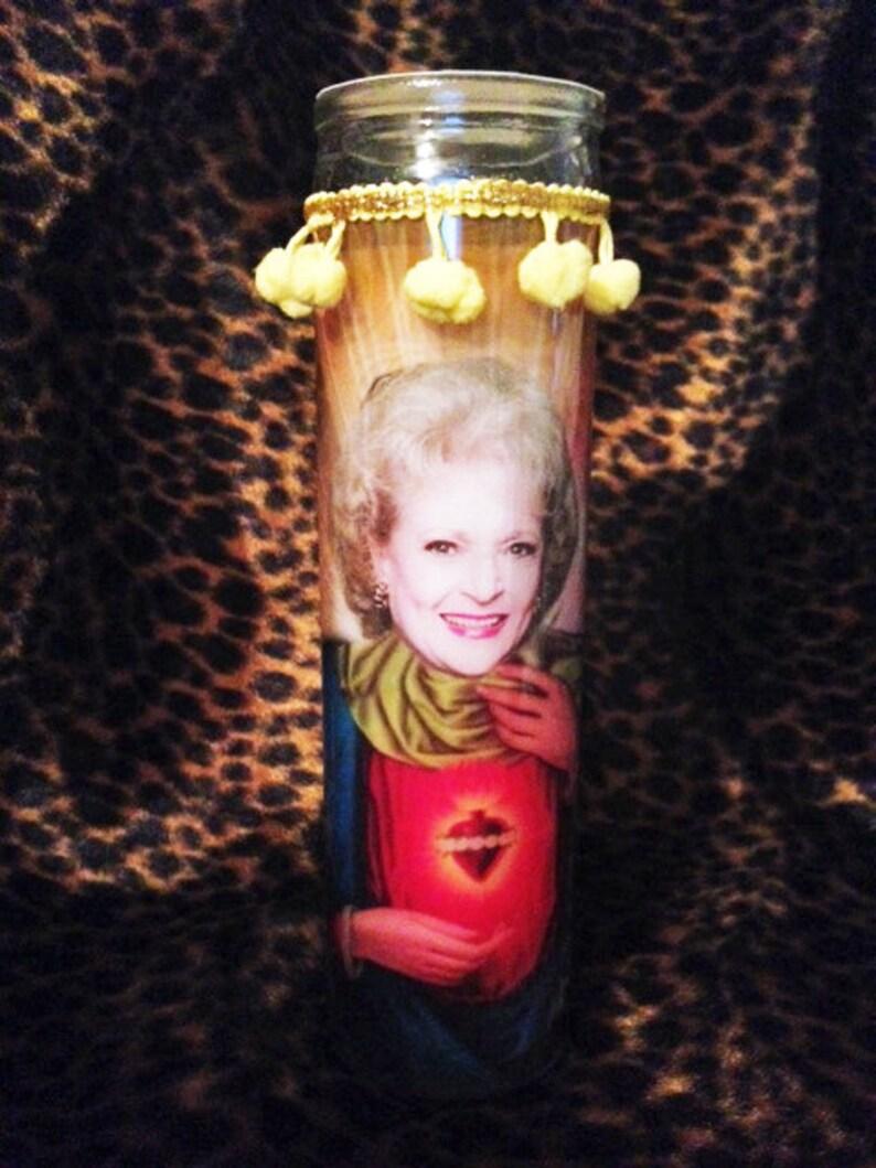 Rose Nylund Betty White Kitschy Kandle  Prayer Candle image 0