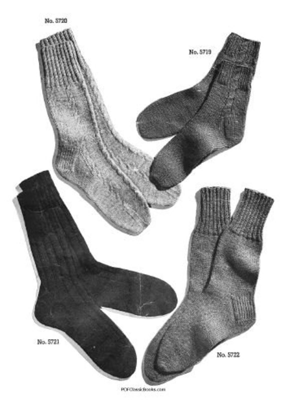 Two Needle Socks Patterns Jack Frost Knitting Book Vol57 Pdf