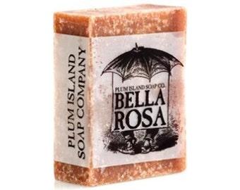 Bar Soap: Bella Rosa by Plum Island Soap Co