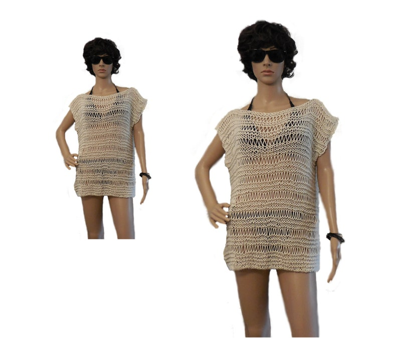 Best Selling Items Women's Crochet Knit Coverup Layer image 0