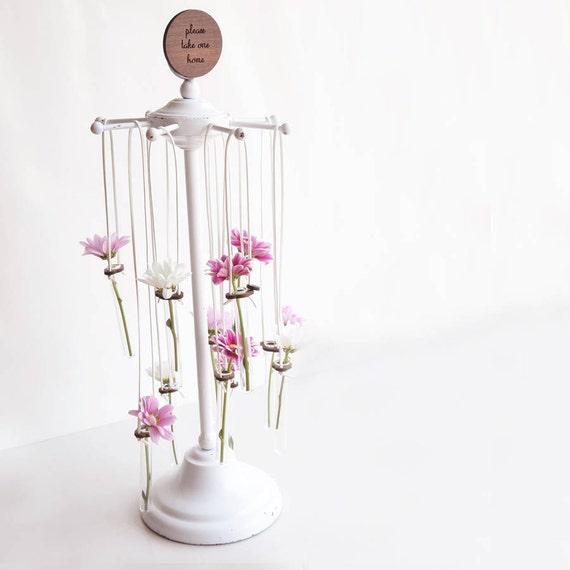 HÖLZERNE REAGENZGLAS hängen Glasvase rustikale Hochzeit   Etsy
