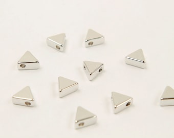 Ring connectors Original rhodium plated brass Nickel free 1x1mm thick 16x8mm Oval ring charm 30 pcs Not easily tarnish G14-R3