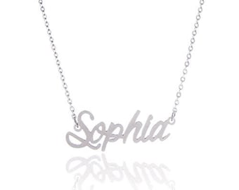 Sophia Necklace Etsy