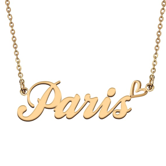 Name Necklace Gold Name Necklace Custom Name Necklace