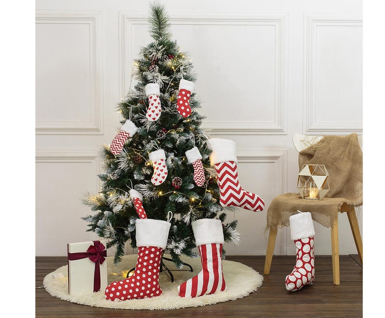christmas decor Personalized Christmas stockings Christmas Stocking