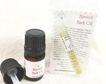 Stretch Mark Oil, organic, pregnancy scars, skin care, Argan Oil, Tamanu Oil