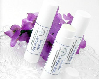 Lavender solid perfume, natural perfume stick scented gift for mom